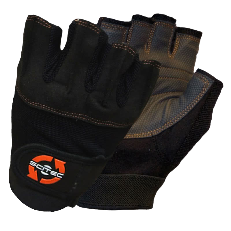 Scitec Nutrition Orange Style gloves pair