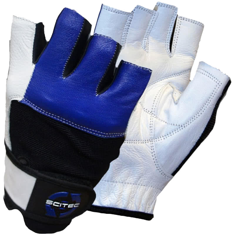 Scitec Nutrition Blue Style gloves pair