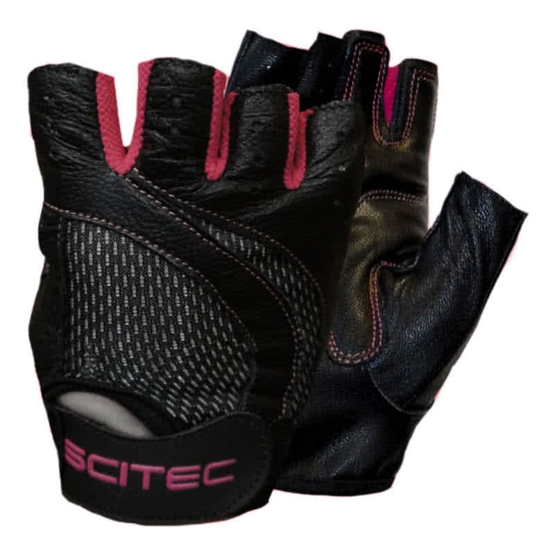 Scitec Nutrition Pink Style gloves pair