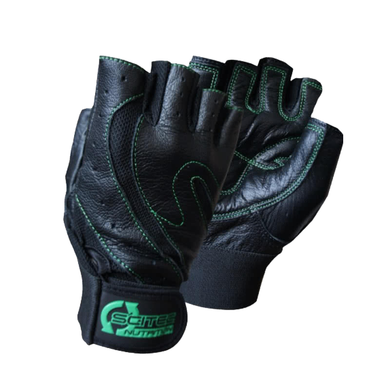 Scitec Nutrition Green Style gloves pair