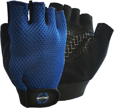 Scitec Nutrition Basic Blue gloves pair