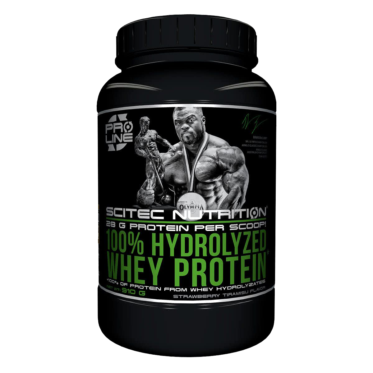 Scitec Nutrition 100% Hydrolyzed Whey Protein 0,91 kg