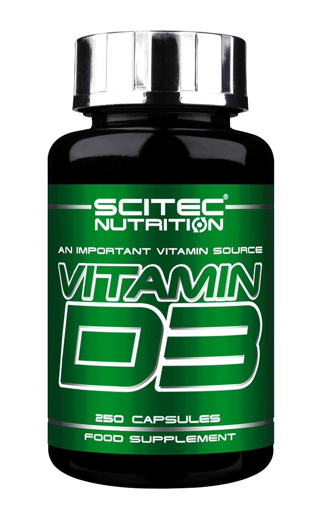 Scitec Nutrition Vitamin D3 250 caps